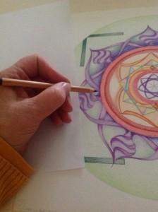 elke getal heeft een eigen kleur, wat zorgt voor verrassingen in kleurcombinaties
