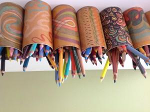 speelse potloden